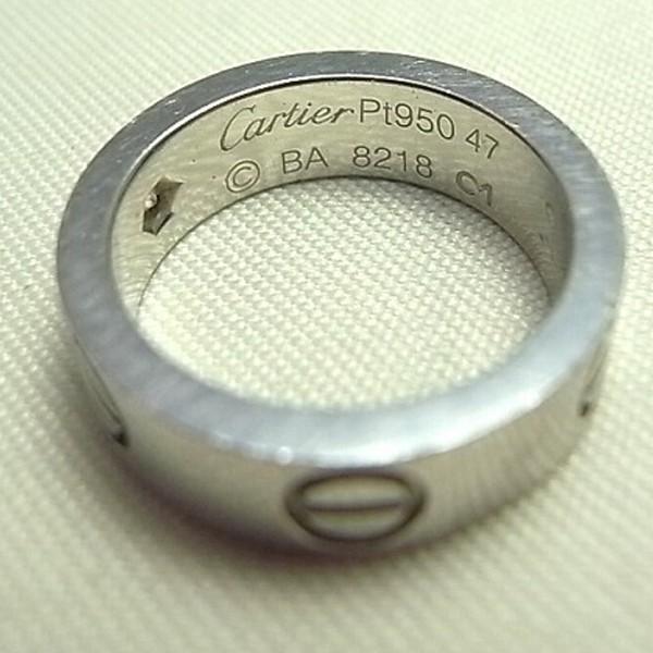 指輪のサイズ直しをしました。